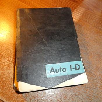 1966 Auto I-D By Richard A. Friend
