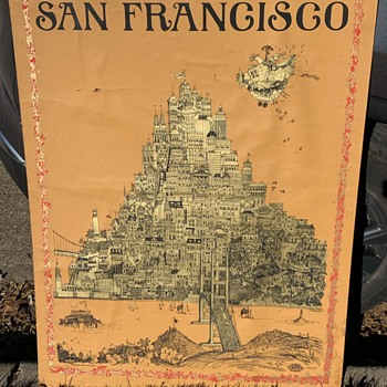 Original 1968 Sparta Graphics San Francisco Jefferson Airplane, Grateful Dead, Moby Grape, Big Brother SUMMER OF LOVE - Posters and Prints