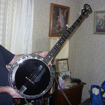 5 string deering banjo - Guitars