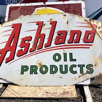 Ashland Oil - Signs