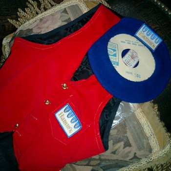 rare Hamm's patches on beret /vest