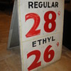 Vintage Gas Sign
