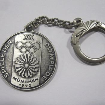 1972 Munich Olympics Key Chain - Sporting Goods