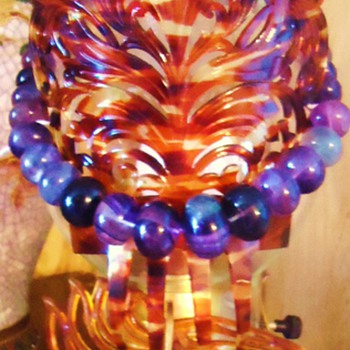 Lamps, Costume Jewelry! made by me!  Try not to laugh too much!!