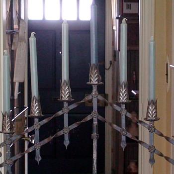 Adjustable Standing Candelabrum From High Street Charleston SC - Lamps