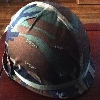 Vietnam era M1 helmet  - Military and Wartime