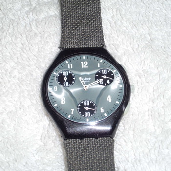 SWATCH  chronograph REALY thin