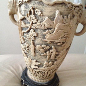 I need your help to find the description off this vase - Asian