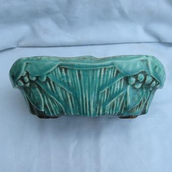 OLD McCoy Flower Holder?  - Pottery