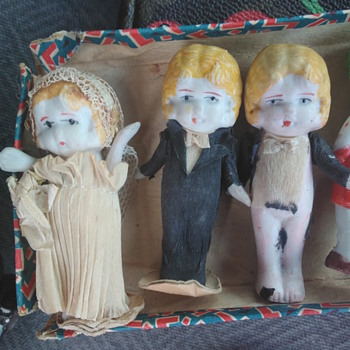 Japan bisque dolls - Dolls