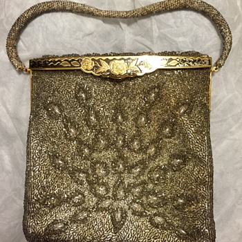 My great grandmother's Vintage Beaded Purse - Bags