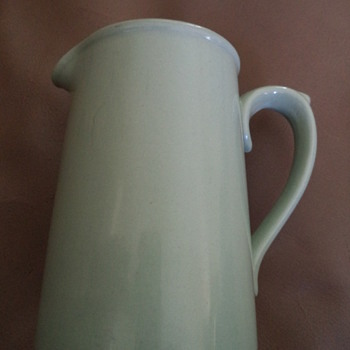 Vintage Pale Green Dudson Milk Jug  - Pottery