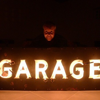GARAGE Porcelain Sign 1930's - Advertising