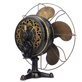 """My 1897 All Original Emerson """"Tripod"""" Electric Fan - Tools and Hardware"""