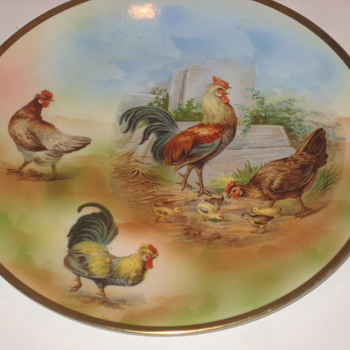 Chicken Plate - China and Dinnerware