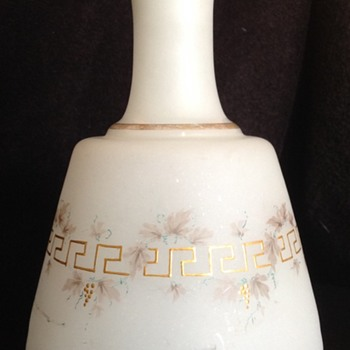 Frosted glass decanter  - Bottles