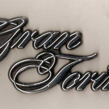 Ford Gran Torino Trunk Emblem - Classic Cars