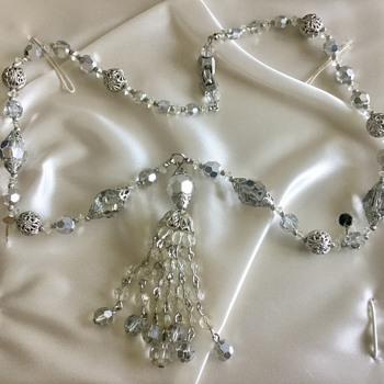 Crystal Bead with Tassel - Costume Jewelry