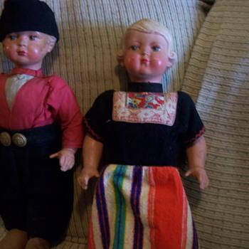 """Dutch 17"""" Walker dolls - Dolls"""