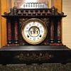 Ansonia open escapement mantel clock