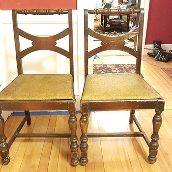 Beautiful old chairs
