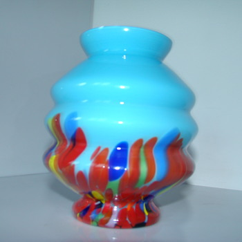 Kralik Art-Deco vase - Art Glass