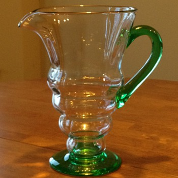 How old is this pitcher?  - Glassware