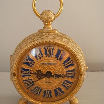 Amazing Bucherer 8 Day Alarm Clock - Clocks
