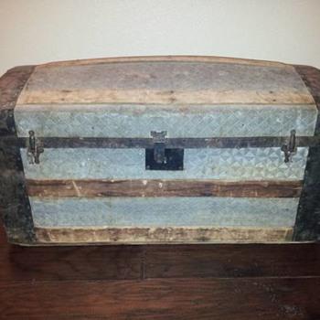 Barrel-Stave or Dome-Top Trunk - Furniture