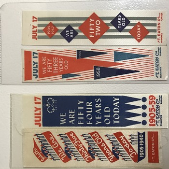 Eaton's ribbons - Advertising