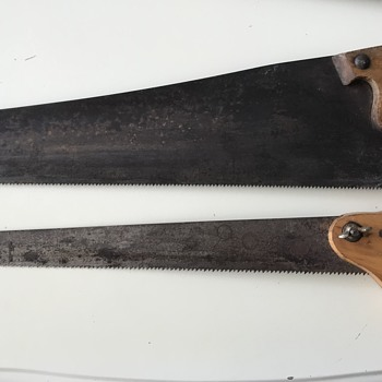 Vintage Saws Handed Down Through the Generations  - Tools and Hardware