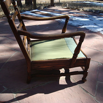 An Old Chair we know nothing about