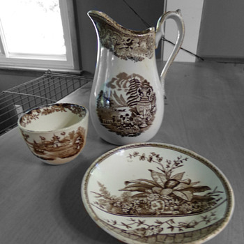 "1800s ""Brownware"" - China and Dinnerware"