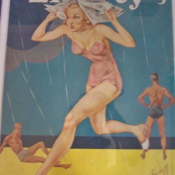 Liberty Magazines July 1936 & July 1940