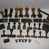 Early 1900's Post Office Hammers and Handstamps Collection