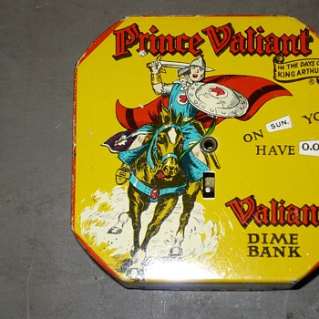 prince valiant dime bank - Coin Operated