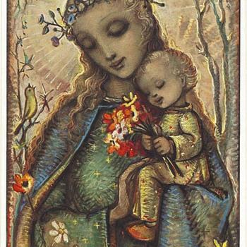 VINTAGE HUMMEL POSTCARD - Postcards