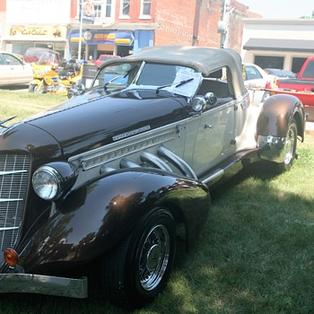 35th Anual Stanberry, Mo. Father's Day Car Show - Classic Cars