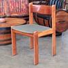 My Uldum Mobelfabrik (Møbelfabrik) 7171 laminated wood and metal dining chair