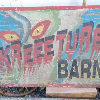 carnival sideshow painting - Advertising