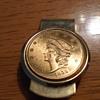 1854 $20 Kellogg & Co., Money Clip.