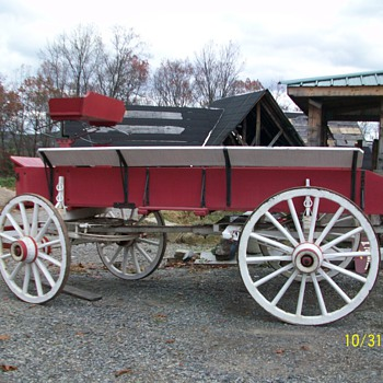 1800's Grain Wagon.