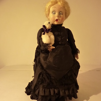 "Rare Lenci doll "" Merry widow "" - Dolls"