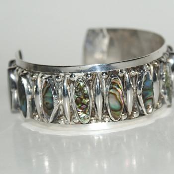JFG Plata 925 GUAD MEX Cuff Bracelet - Fine Jewelry