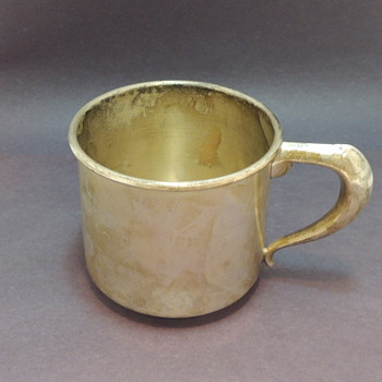 Sterling Silver Mug - W. Bell & Co.  - Silver
