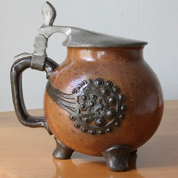 Richard Riemerschmid Jugendstil Beer Stein Model 1757 - Art Nouveau