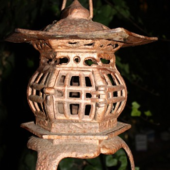Old Cast-Iron Japanese Lamp? - Lamps