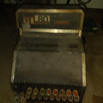 Midwest co. Cash Register - Coin Operated