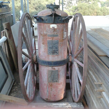 Vintage Badger's 40 Gal. Chemical Engine