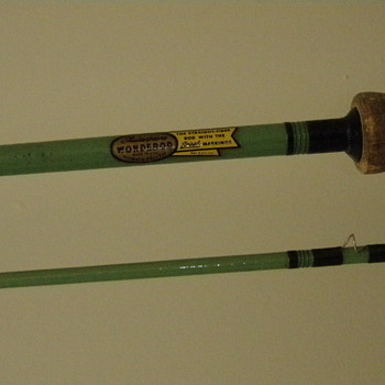 "Shakespeare Wonderod Fly Rod 7'9"" Green Blank"